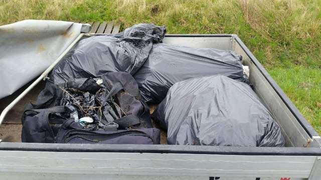 Oprydning - Affald