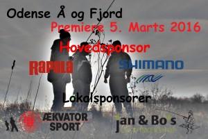 Odense Å Premieren 2016 Sponsorer